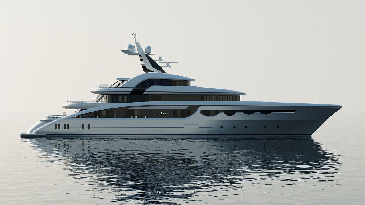 Новые подробности о яхте Abeking & Rasmussen Soaring