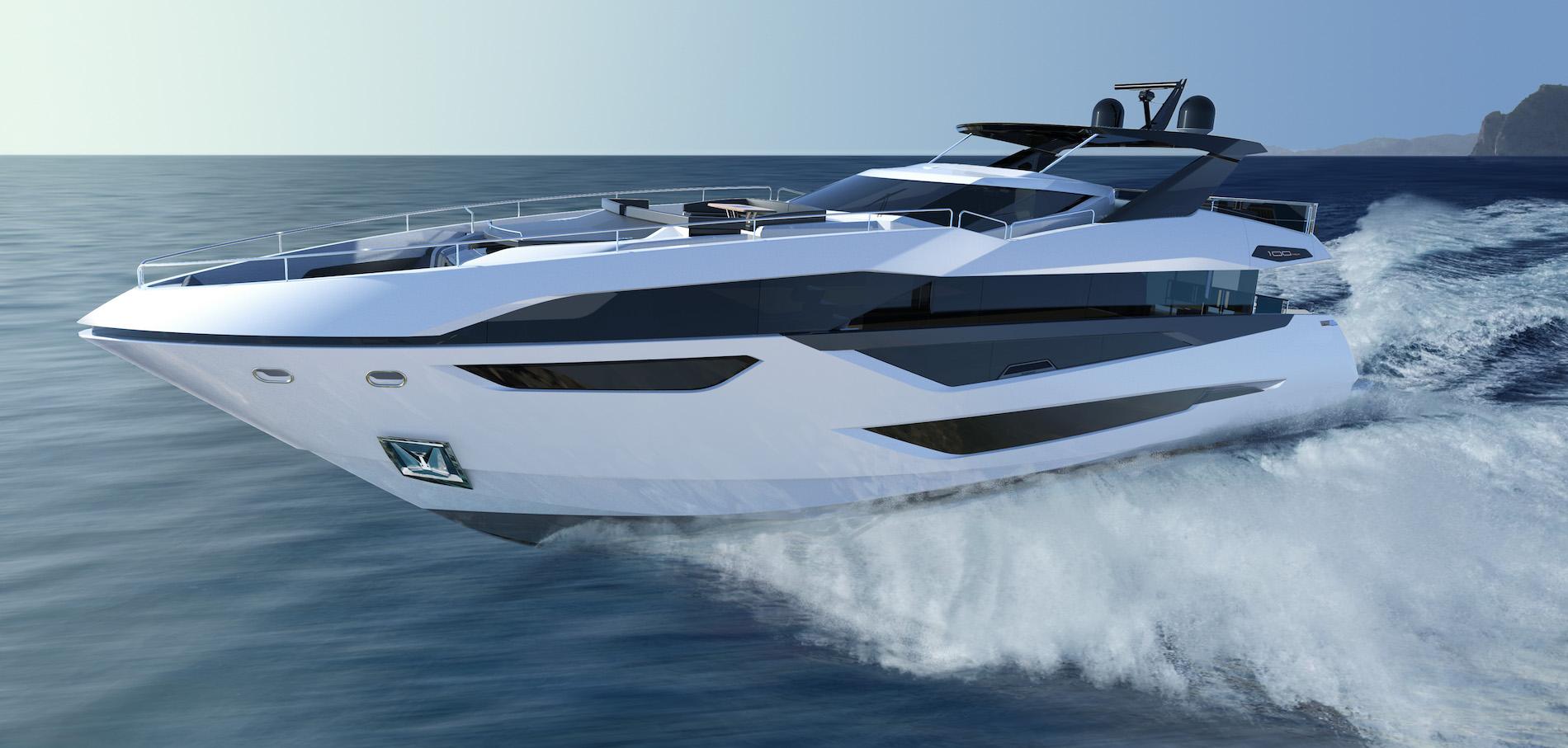 Новое знакомство: Sunseeker 100 Yacht