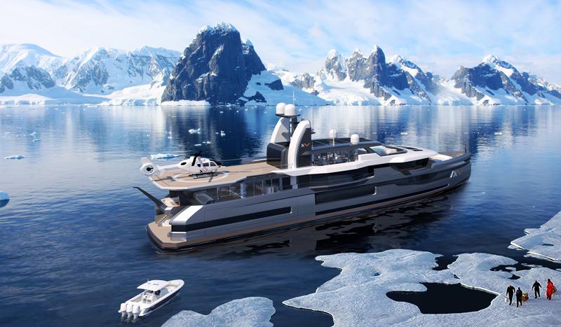 Эксплорер Xventure от Heesen Yachts