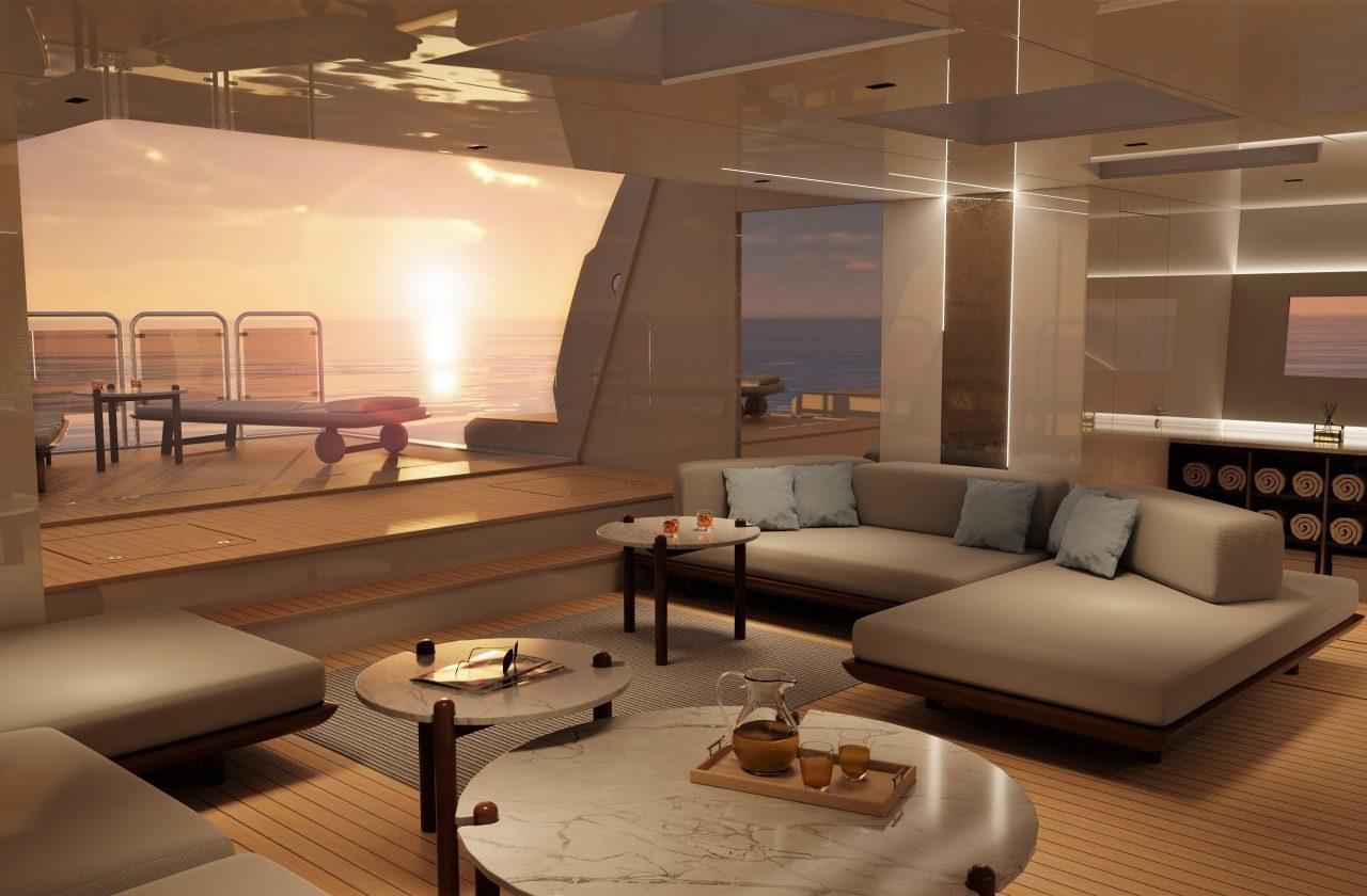 Представлен новый класс яхт Sunseeker