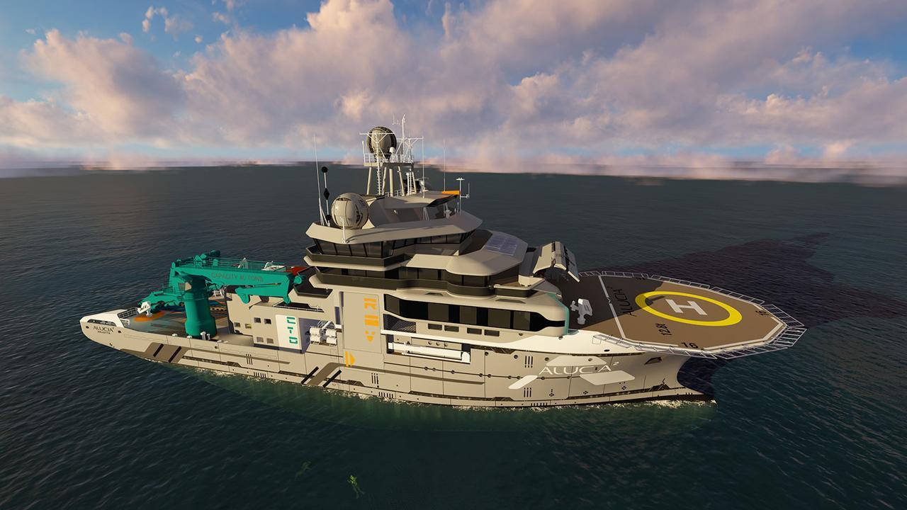 OceanXplorer успешно прошел морские испытания