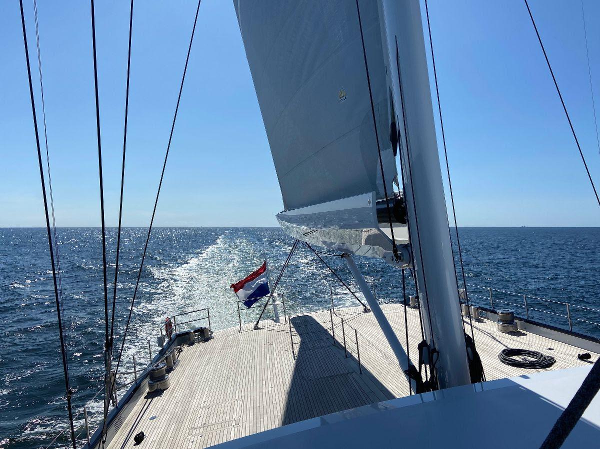 Sea Eagle II готова к передаче владельцу