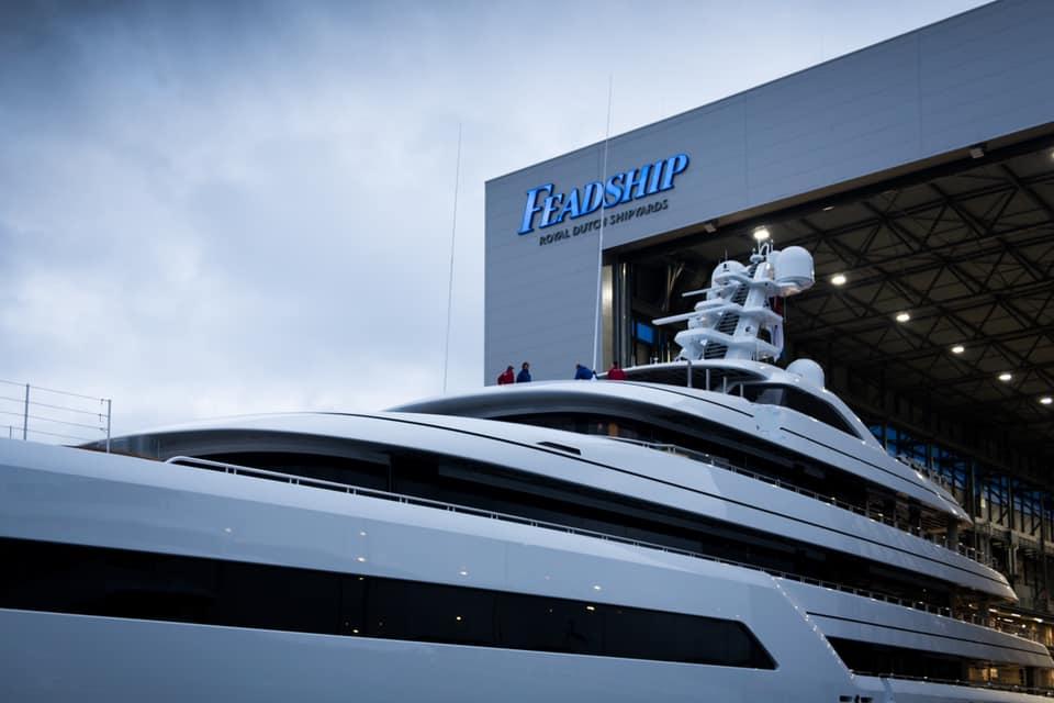 Feadship Project 816 cпущена на воду