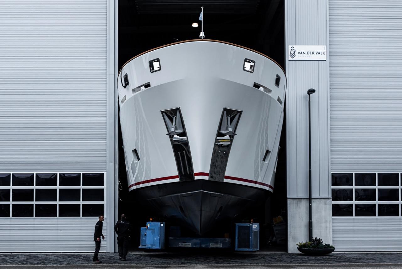 Van der Valk Venera на морских испытаниях