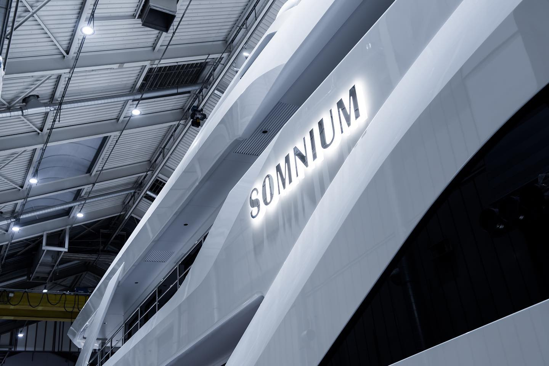 Feadship Somnium спущена на воду