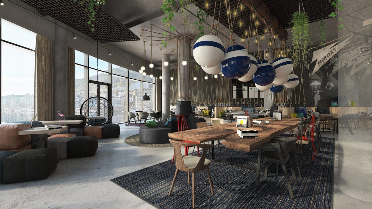 Новый отель сети Marriott откроется в Бергене