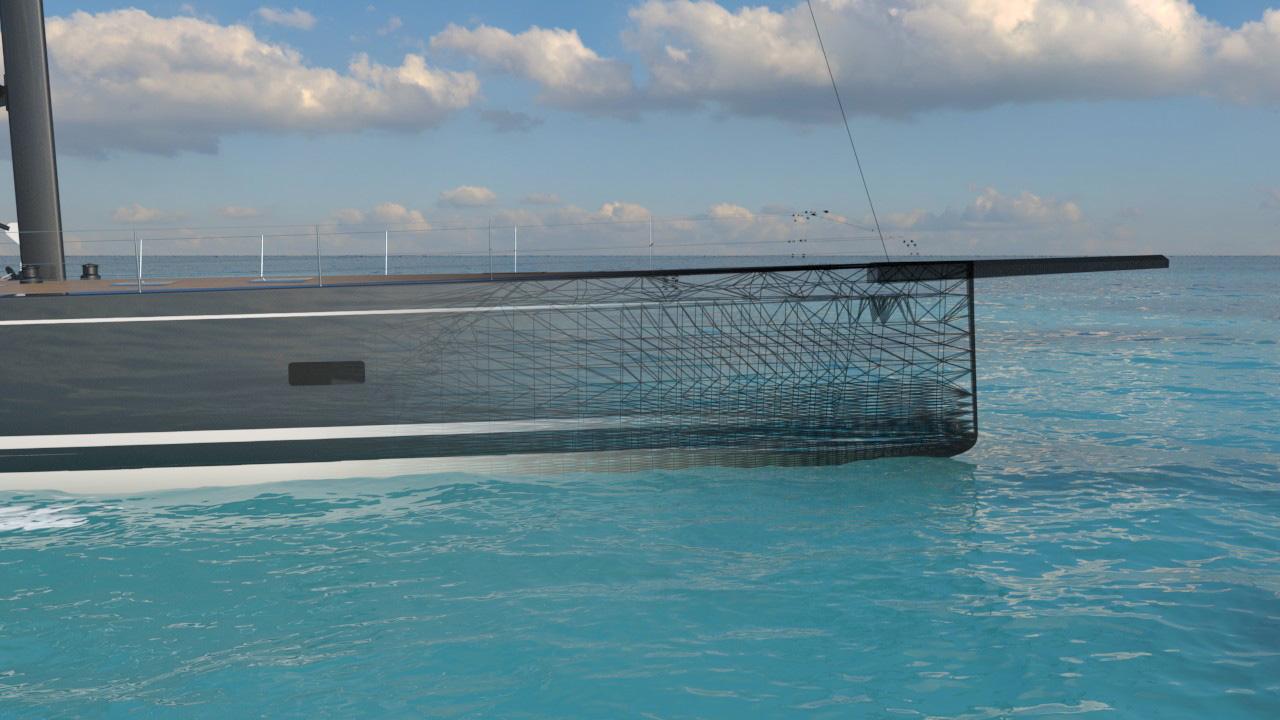 Представлен проект гибридного парусника SW108 Hybrid