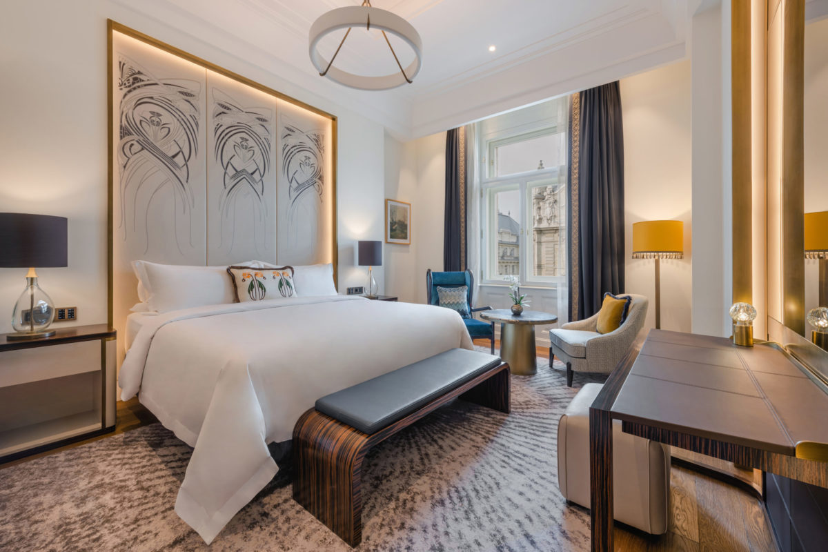 Новый отель в Будапеште объявляет о сотрудничестве с именитым шеф-поваром