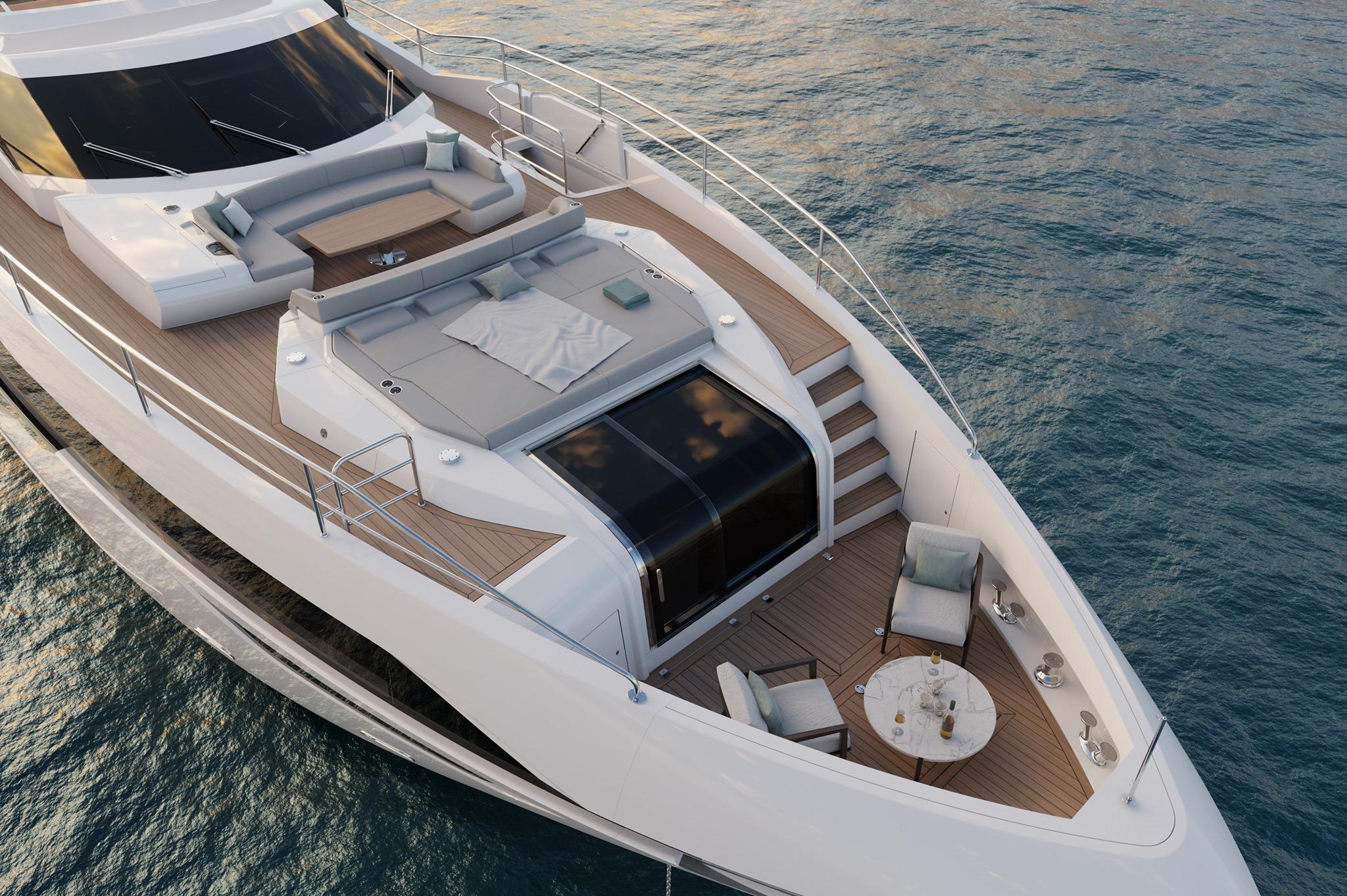 Новые подробности о Sunseeker 100 Yacht