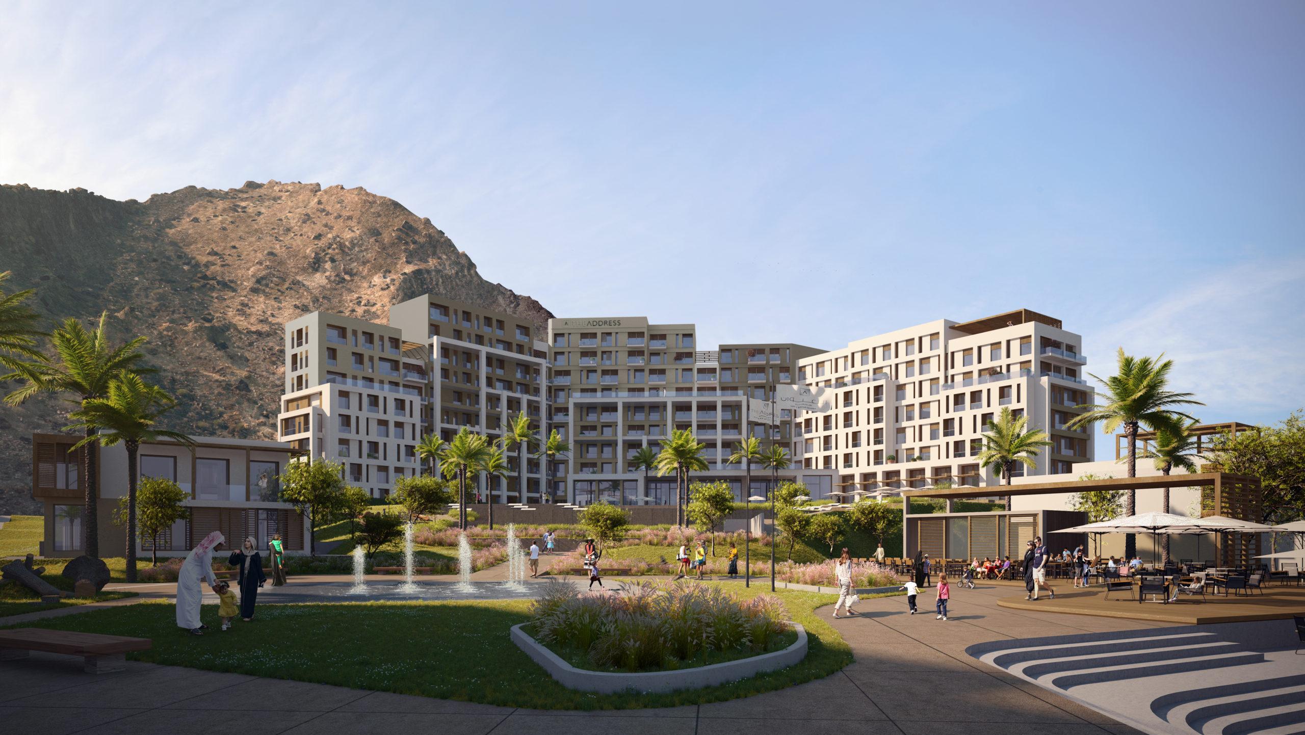 Пятизвездочный курорт в окружении горных хребтов