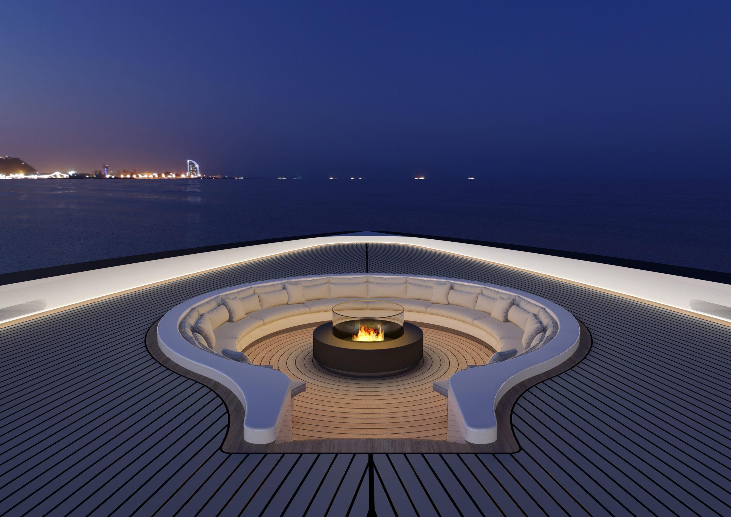 Представлен концепт 150-метровой яхты ONE 50